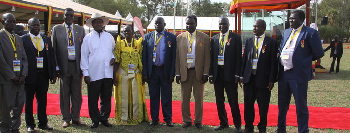 Connect Project Coordinator for Uganda receives Presidential Award